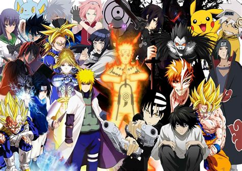 U Anime Characters by All Anime Characters Wallpaper Siudy Net