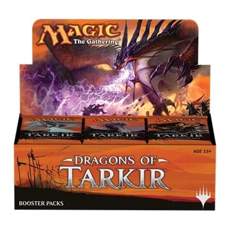 Magic The Gathering Booster Pack Dragons Of Tarkir magic the gathering dragons of tarkir booster box magic