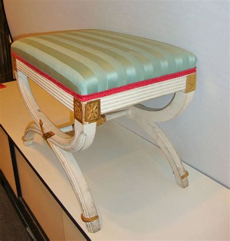 hollywood regency painting hollywood regency paint decorated x form bench or