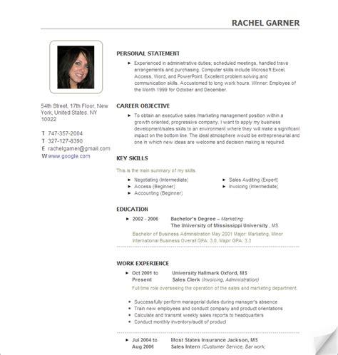 create  resume resume cv