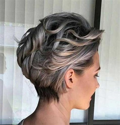 short grey hairstyles pinterest 20 collection of gray short hairstyles