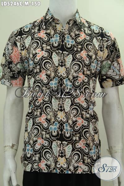 Kemeja Batik 181 baju batik pria motif terbaru lebih keren dan fashionable