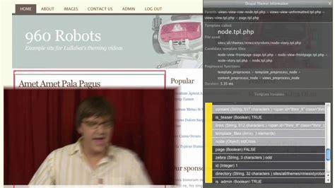 drupal theme youtube using the drupal theme developer tool theming basics for
