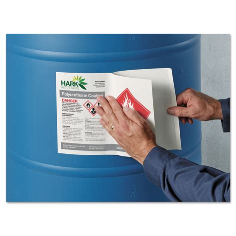 free ghs label template secondary container label requirements osha popular