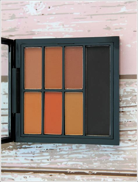 Eyeshadow Pac pac matte eyeshadow palette review and blush