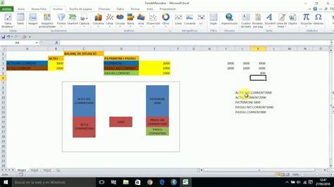 tutorial excel graficas 2010 tutorial de grafica de fondo de maniobra con excel youtube