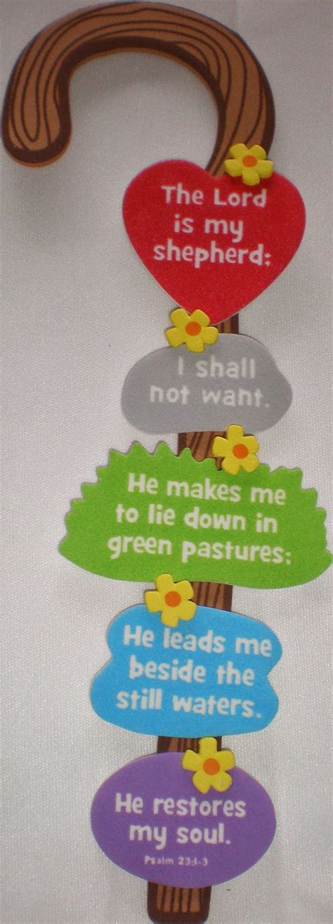 easy bible crafts for petersham bible book tract depot shepherd s staff craft kit