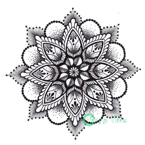 awesome mandala tattoo design sample