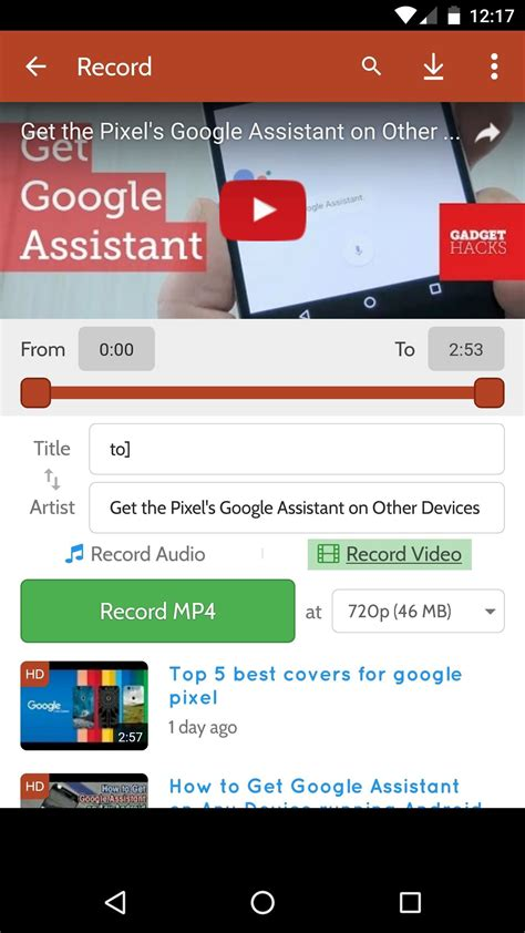 download youtube audio how to download youtube audio or video from your android