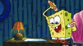 Spongebob Doing Essay by Trying To Do Homework Gif Spongebob Homework Discover Gifs