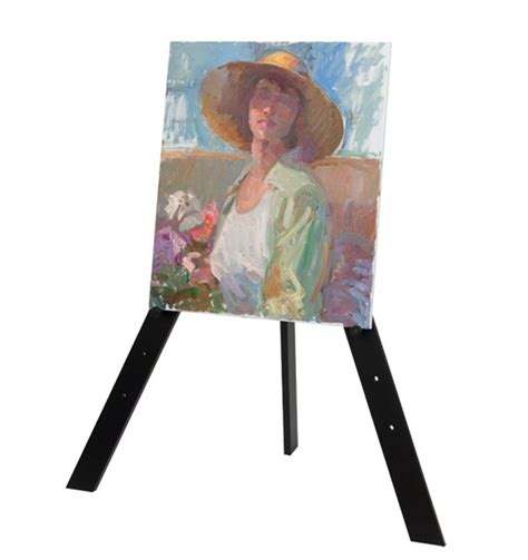 simply art natural wood easel how to make a painting easel defendbigbird com
