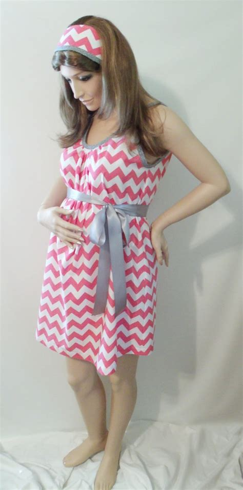 C Section Hospital Gown by Chevron Maternity Hospital Gown Delivery Nursing Gown