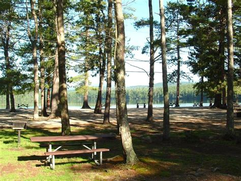 New Hshire State Park Cabins by White Lake State Park Overview Cground Csite