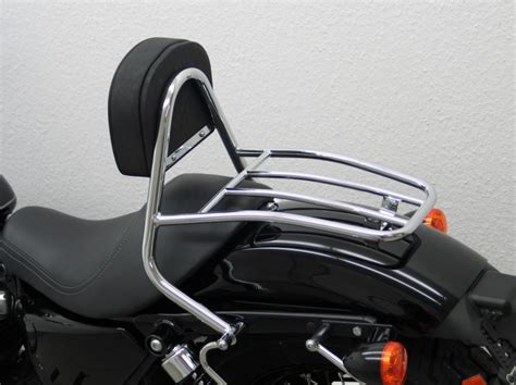 Harley Davidson Backrest And Luggage Rack by Harley Davidson Sportster Evo 2004 Up Driver Backrest And
