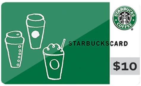 Add Starbucks Gift Card To Account - starbucks gift card 10 value grovia