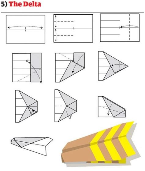 How To Fold The Best Paper Airplane - the worlds best paper airplanes paper planes