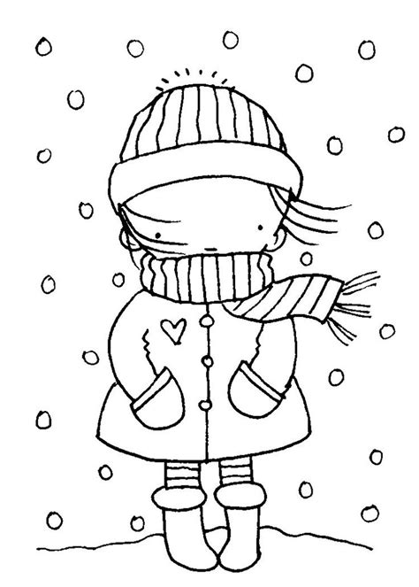 90 winter clothes coloring pages for preschoolers