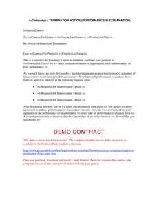 Exle Of Termination Letter To Employee by Doc 529684 Free Termination Letter Template Bizdoska