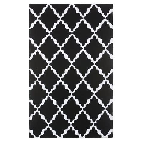 black lattice rug lattice rug black pbteen