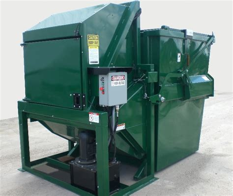 garbage compactor 8 yard vertical outdoor compactors