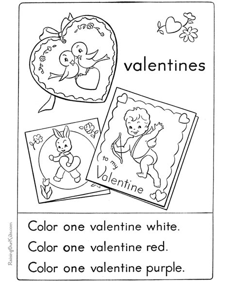 printable coloring pages valentines day cards kid card coloring pages 005