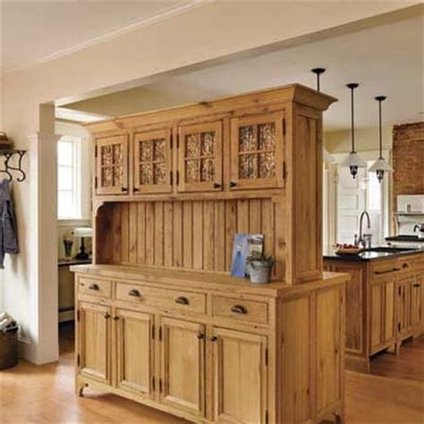 kitchen hutch designs double duty hutch kitchen storage design ideas this