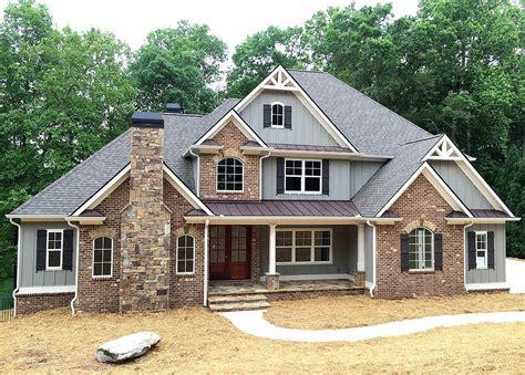 superior craftsman house plan 24363tw architectural