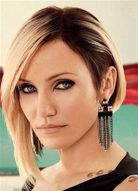 edgy bob haircuts 2015 round face asymmetrical bob edgy hairstylegalleries com