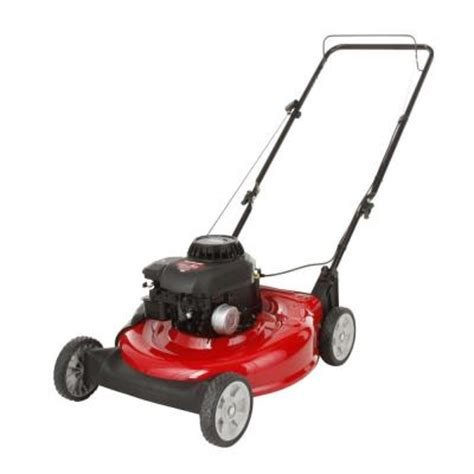 yard machines 21 in push gas walk lawn mower