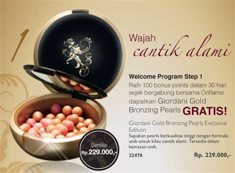 Oriflame Gg Bronzing Pearls Golden Edition promo rekrut