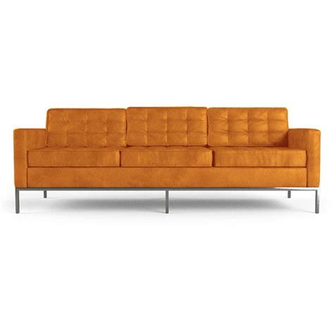 orange leather couch 17 best ideas about orange leather sofas on pinterest