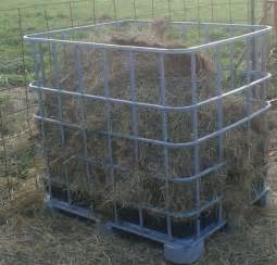 Round Bale Blinds Viewing A Thread Sto Goat Hay Feeder