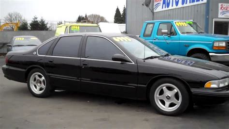 how to fix cars 1995 chevrolet impala free book repair manuals 1995 chevy impala ss sold youtube
