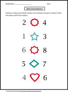 learning pattern quiz colors and shapes printable matching quiz kindergarten