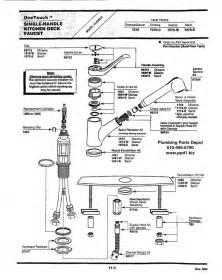 moen kitchen faucets parts diagram diy bedroom storage