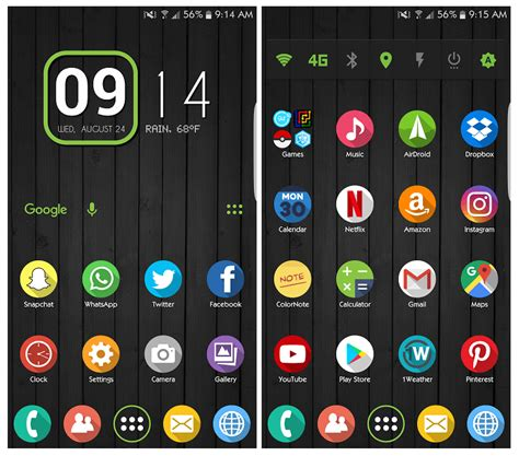 android home screen widgets 10 reasons why an android phone is better than an iphone crambler