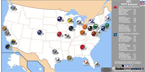 map usa nfl teams image gallery nfl us map