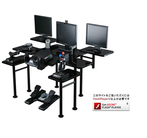 Roccaforte Gaming Desk Roccaforte Ultimate Gaming Desk