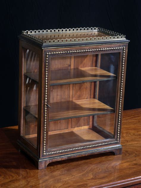 table top display cabinet small glazed cabinet misc