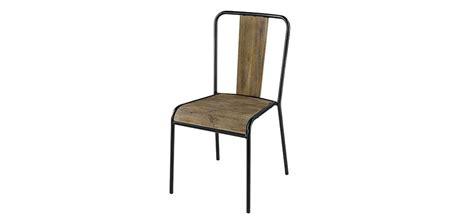 chaises industrielles pas cher chaise industriel pas cher tabouret de bar industriel