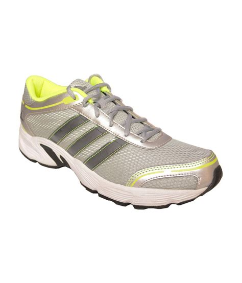 adidas silver running sport shoes price in india buy