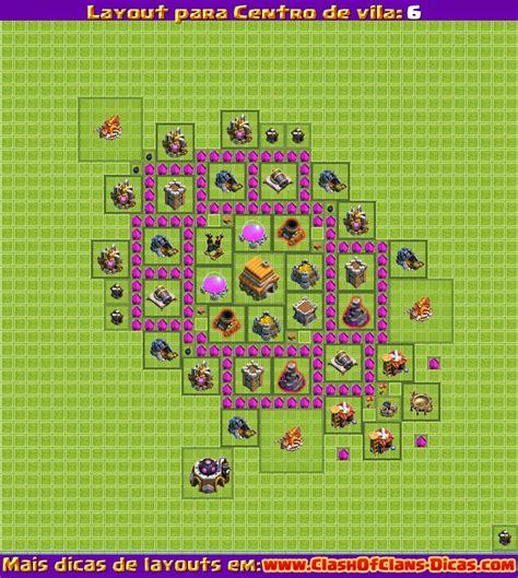 layout design clash of clans melhores layouts para clash of clans centro de vila n 237 vel