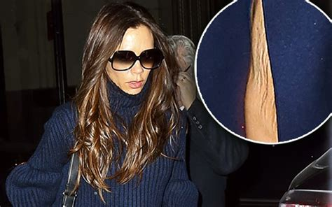 Beckham Thinks Arms Are Flabby 2 by Beckham S Saggy Skin Exposed Divorce Strain To