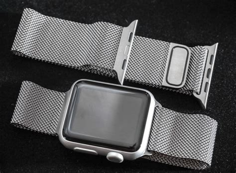 Apple Milanese Loop Army Style 42mm apple bands bracelets reviews recommendations ablogtowatch