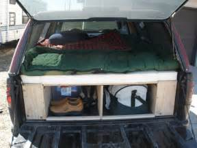 Truck Canopy Bed Ideas Converting A Truck Shell Into A Living Space Tiny House
