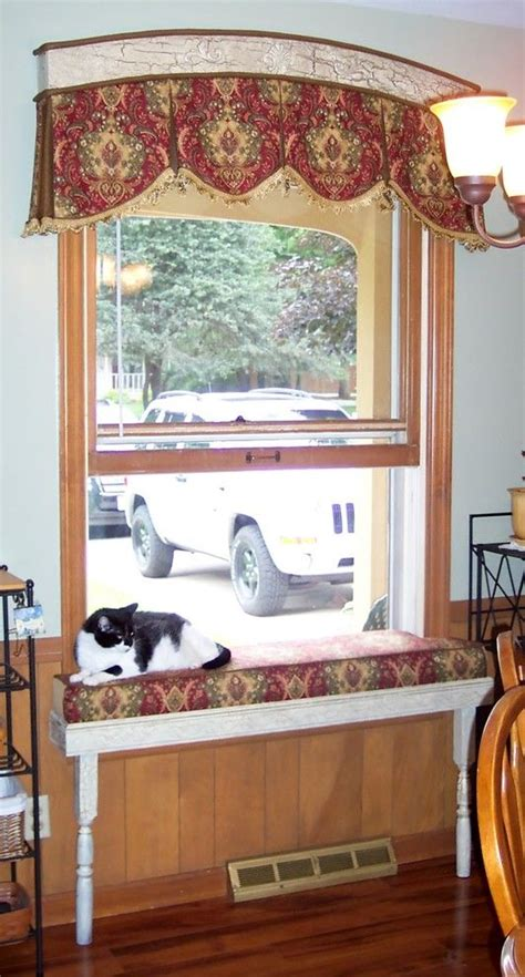 perch window seat dazzling cat window perch in kitchen traditional with
