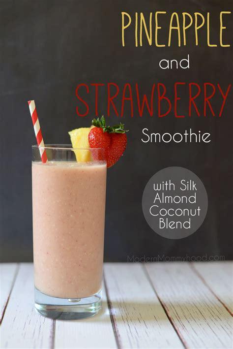 Detox Smoothie Lemon Pineapple Almond Milk by Benefits Of Almond Milk Pineapple Strawberry Smoothie