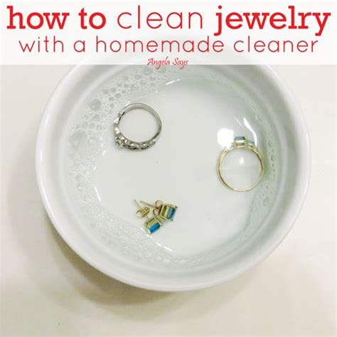 how to make jewelry cleaner at home 25 best ideas about jewelry cleaner on