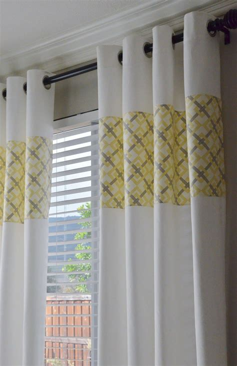 Yellow And Gray Bedroom Curtains by Yellow And Gray Curtains Www Pixshark Images