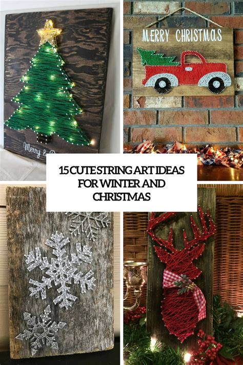 Ideas For String - 15 string ideas for winter and